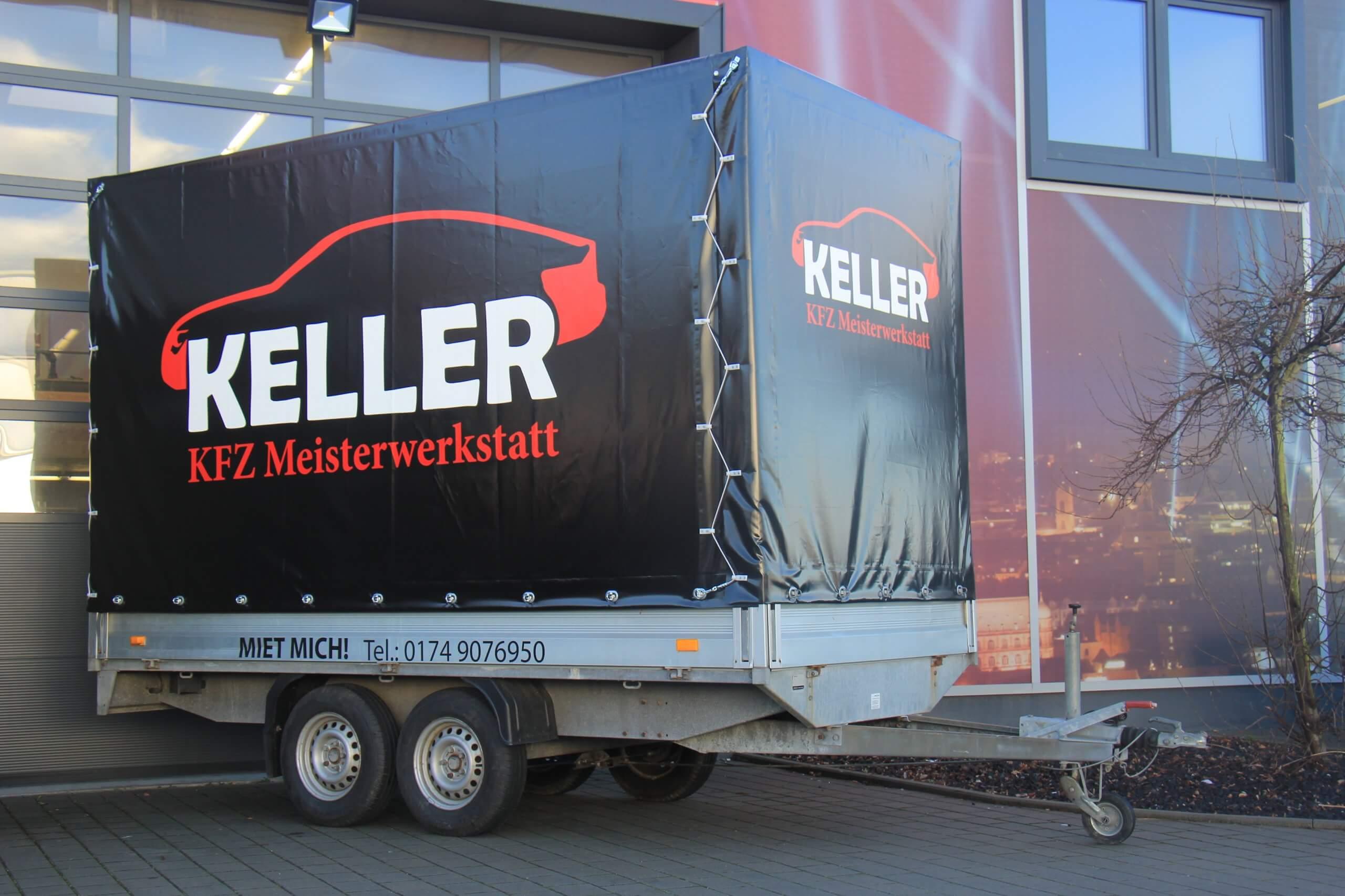 Anhänger KFZ Keller